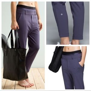 **NWT** Lululemon Exquisite Trouser Crop Nightfall